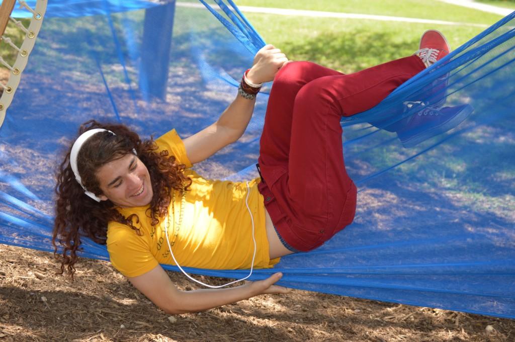 How to enjoy a hammock, alternate interpretation.